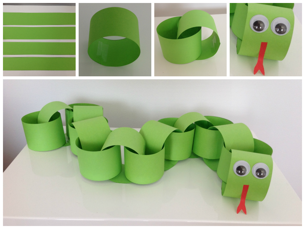 Get crafty with this fun paper snake