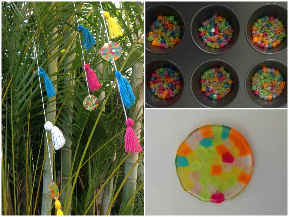 Brighten your day with a homemade sun catcher