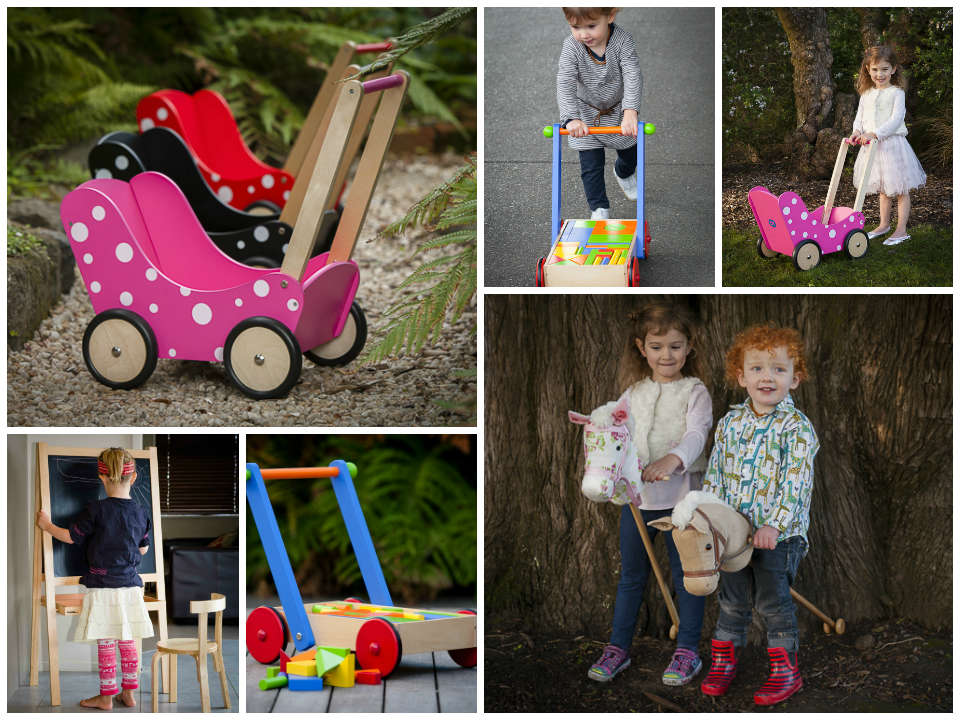 Endless fun with Mocka's classic toys