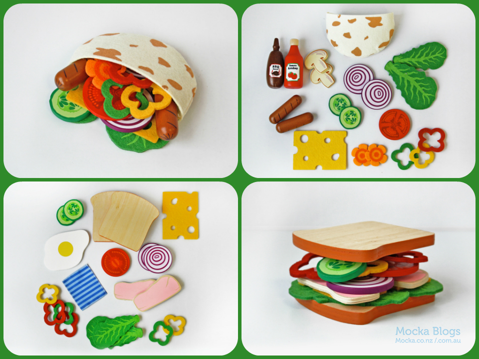 Mocka Lunch Play Sets