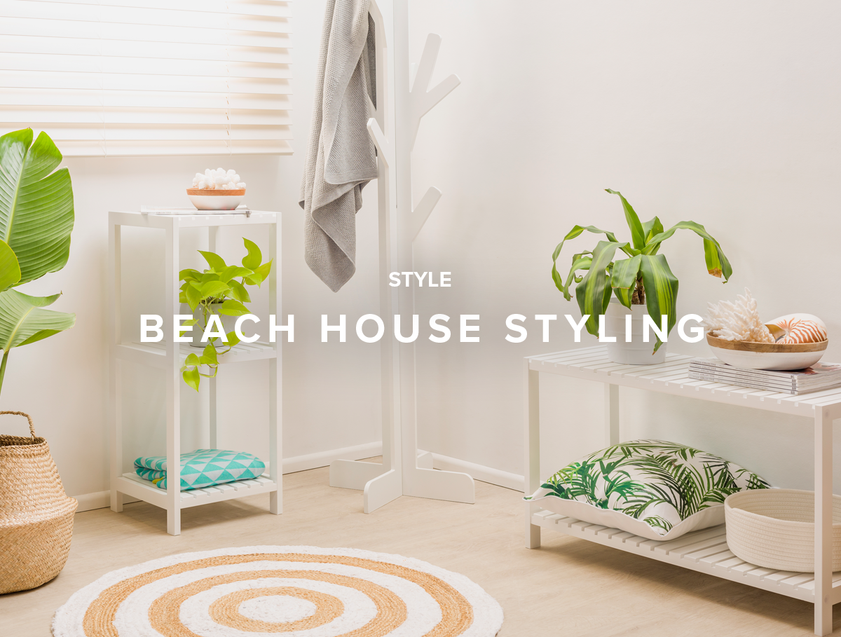 beach house styling