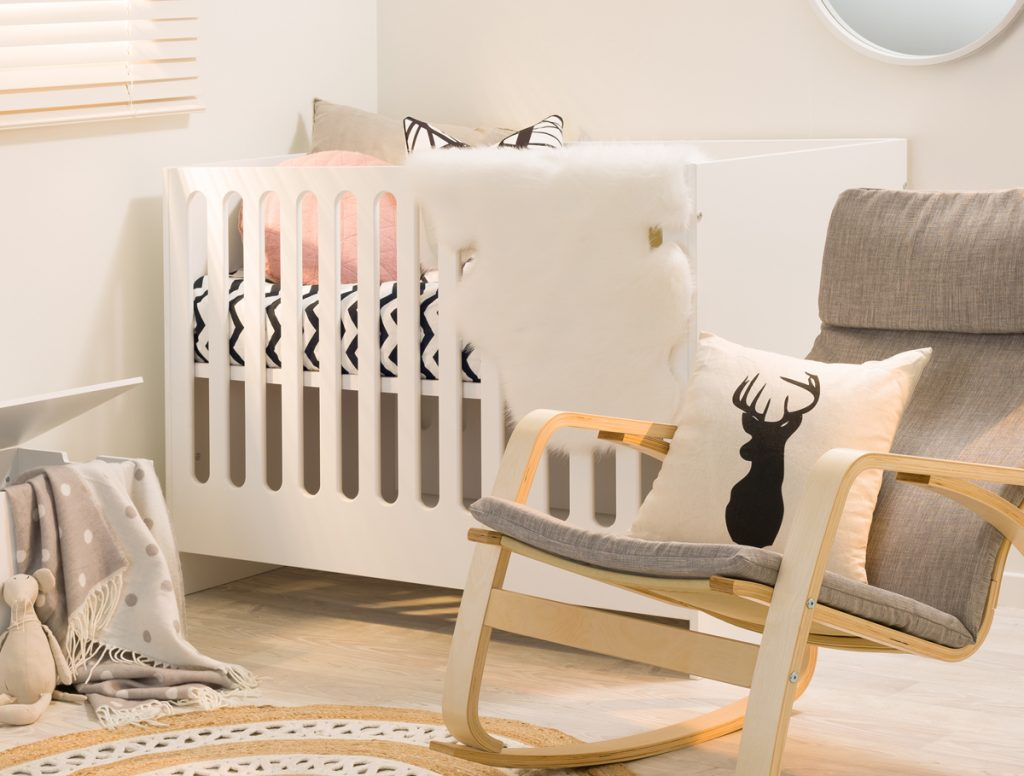 Amalfi Cot - Ideal first baby cot - Mocka NZ