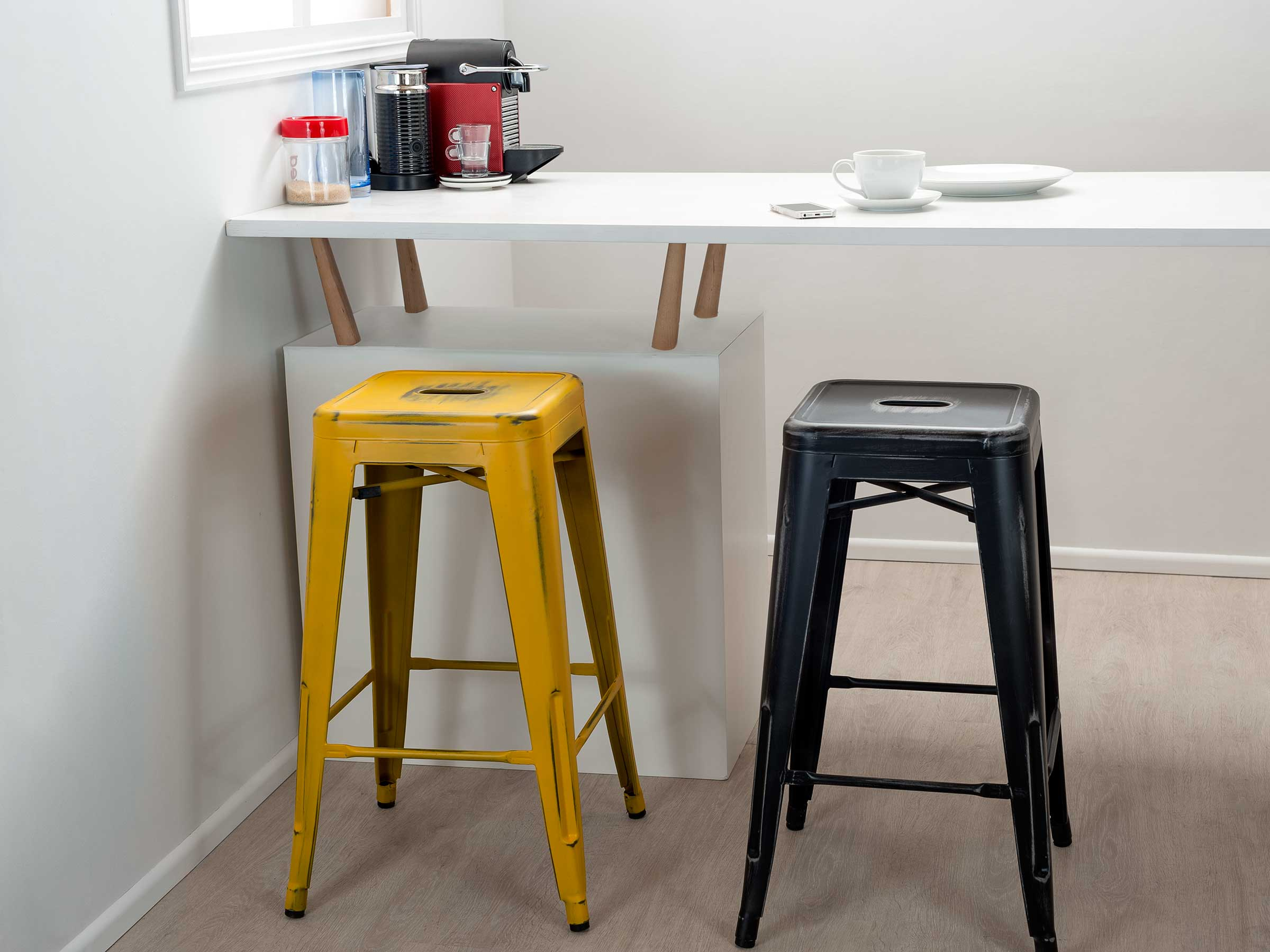Vintage Bar Stools - Mocka NZ