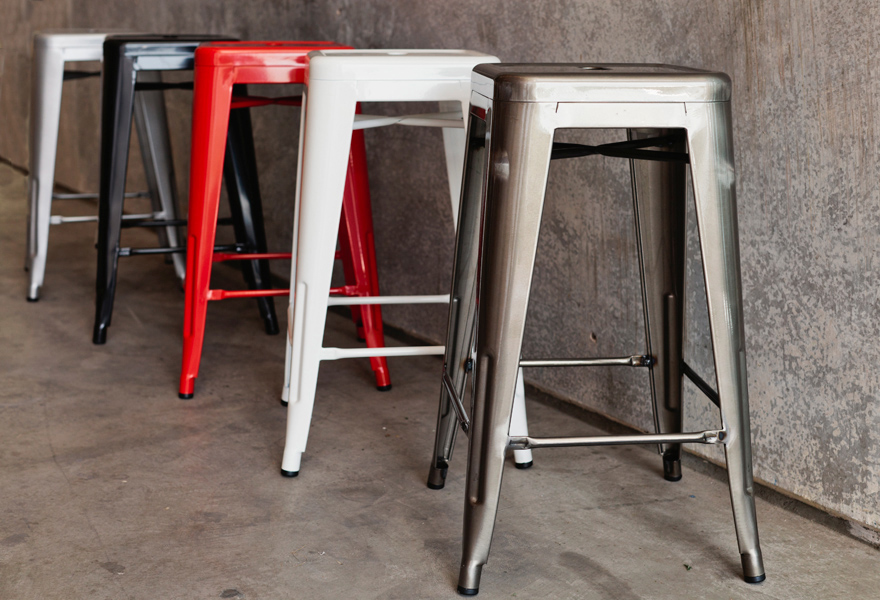 Industrial Bar Stools - Mocka NZ
